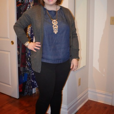 What NYC Recessionista Wears: Havana Necklace