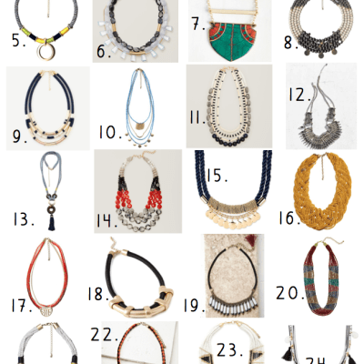 24 Pieces of Jewelry Fit for Coachella