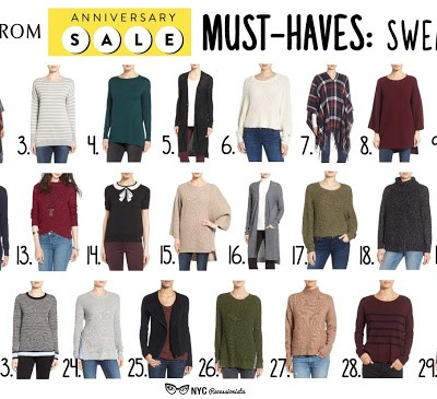 Nordstrom Anniversary Sale Picks: Sweaters