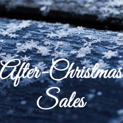 SALES-ALERT: After-Christmas Sales