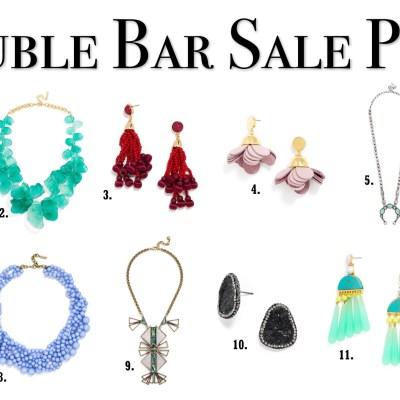 SALE ALERT: up to 60 percent off at Bauble Bar