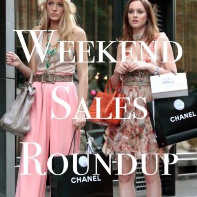 Great Weekend Sales to Shop