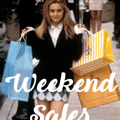 50 Sales to Shop this Weekend