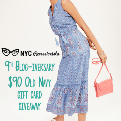 GIVEAWAY: $90 Old Navy Gift Card