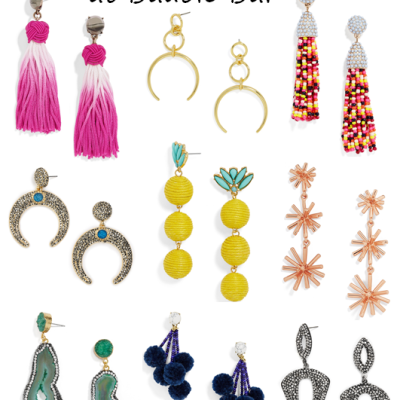 SALE ALERT: 30 percent off perfect summer earrings at Bauble Bar