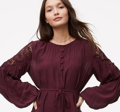 LOFT sale: 50 percent off dresses, tops, skirts and accessories