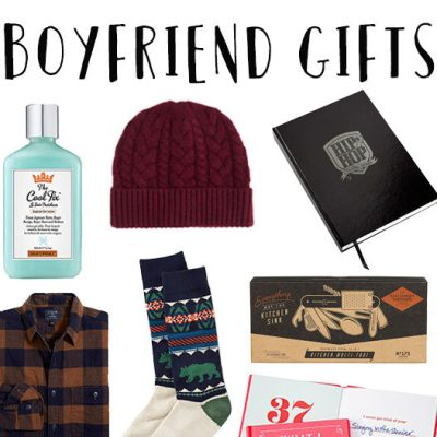 Fool-Proof Holiday Gifts for Boyfriends
