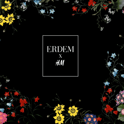 AVAILABLE TODAY: Erdem x H&M
