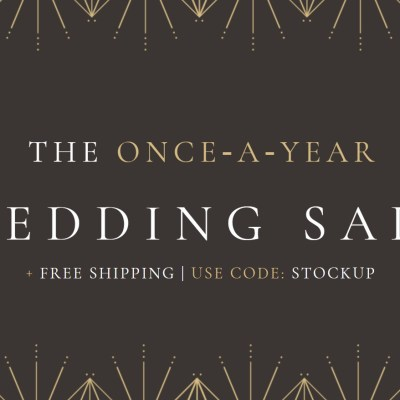 The BHLDN Wedding Sale is on now
