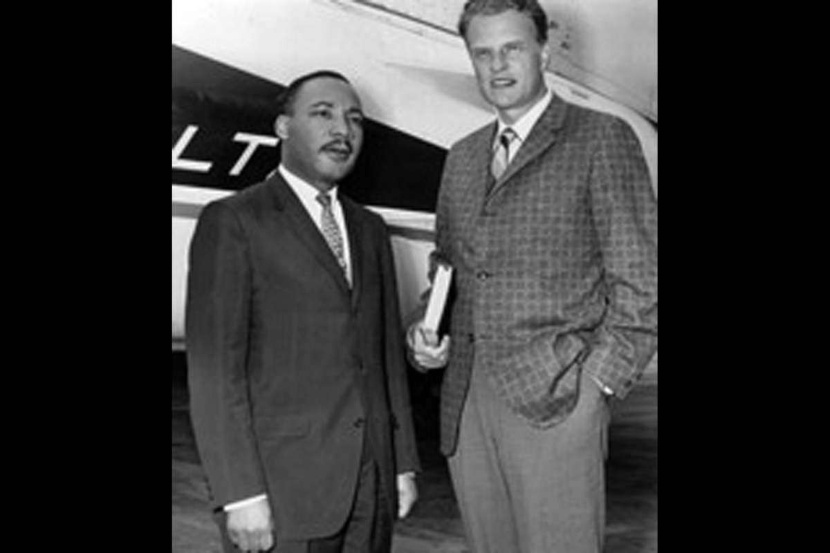 Martin Luther King, Jr. & Billy Graham. The Road to NYC, 1957