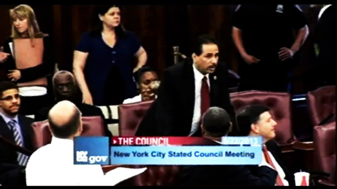 Fernando Cabrera of the Bronx is the leader of the Right to Worship movement in the NY City Council.
