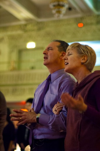 Pete & Geri Scazzero put into New Life Fellowship the DNA of fixing neighborhood problems.