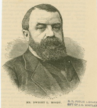 Dwight Moody. Source: New York Public Library Digital Collection