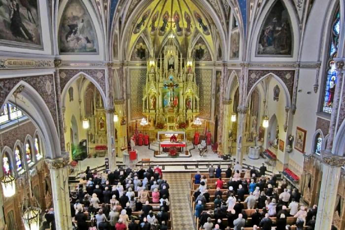 Photo courtesy of St. Stanislaus Kostka, Greenpoint