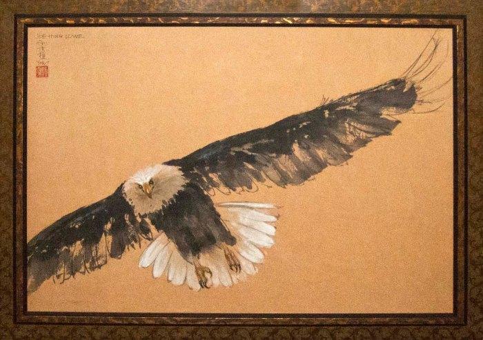 """Eagle"" by Joe Hing Lowe"