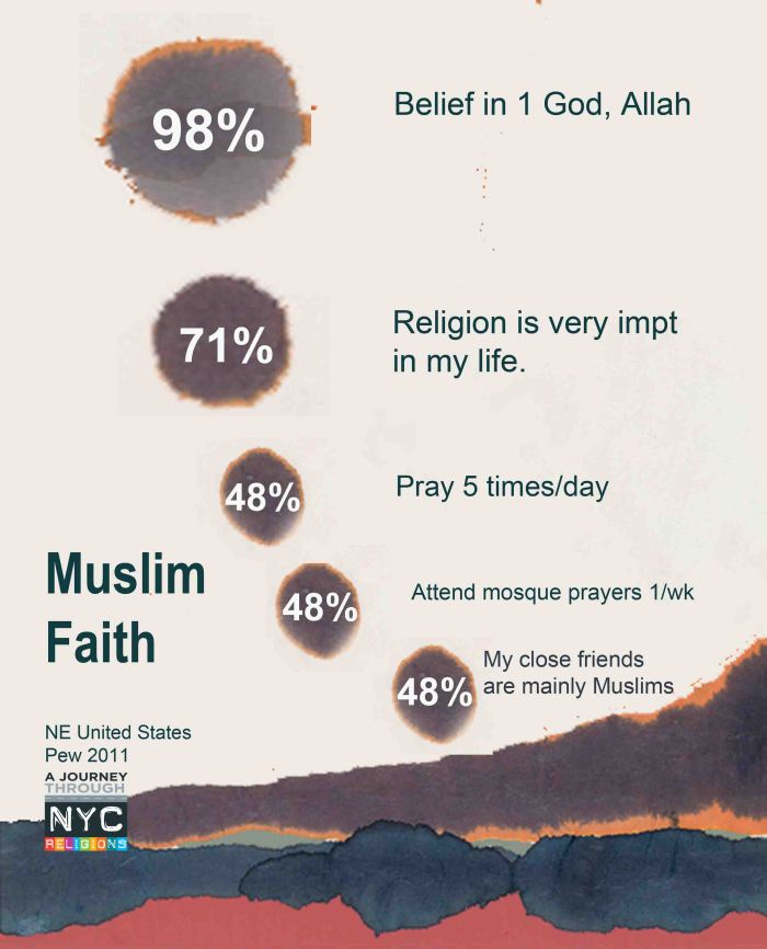 Faith of Muslims NE US PEW 2011