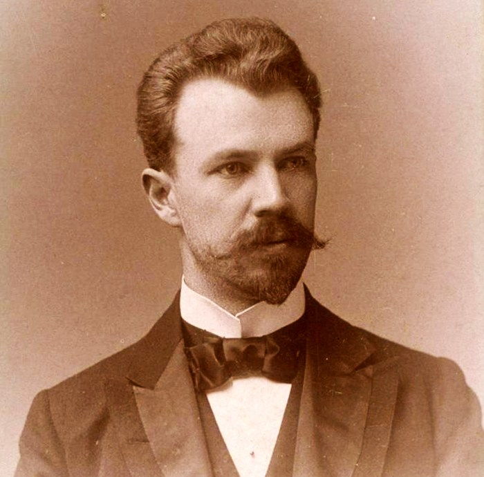 Lincoln Steffens in May 1894. Photo: Geroge G.Rockwood