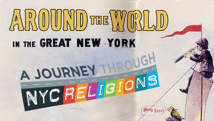 Illustration: A Journey through NYC religions with help of