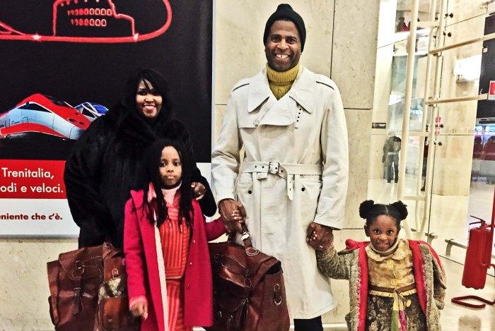 Pastor Dimas Salaberrios family