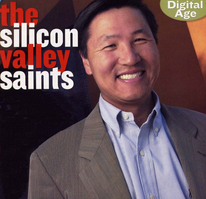 Michael Yang, founder of shopping site MySimon.com in 1998, was one of several Silicon Valley execs who wondered how the digital age would affect religion.