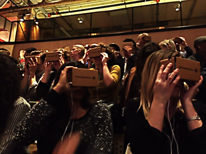 NYT VR launch