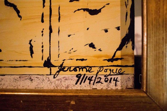 Jerome Pogue Signature