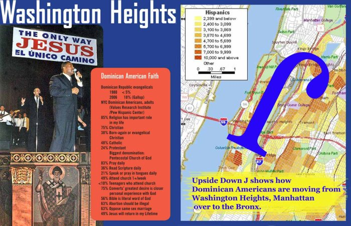 Illustrated Fact Guide to Religion in Washington, Heights, Manhattan