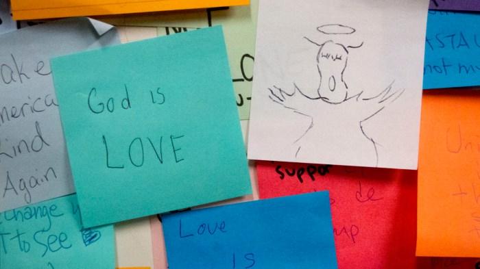 Angel. God is love.