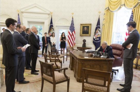 President Trump's talks to Jewish leaders before Rosh Hashanah, decries anti-Semitism