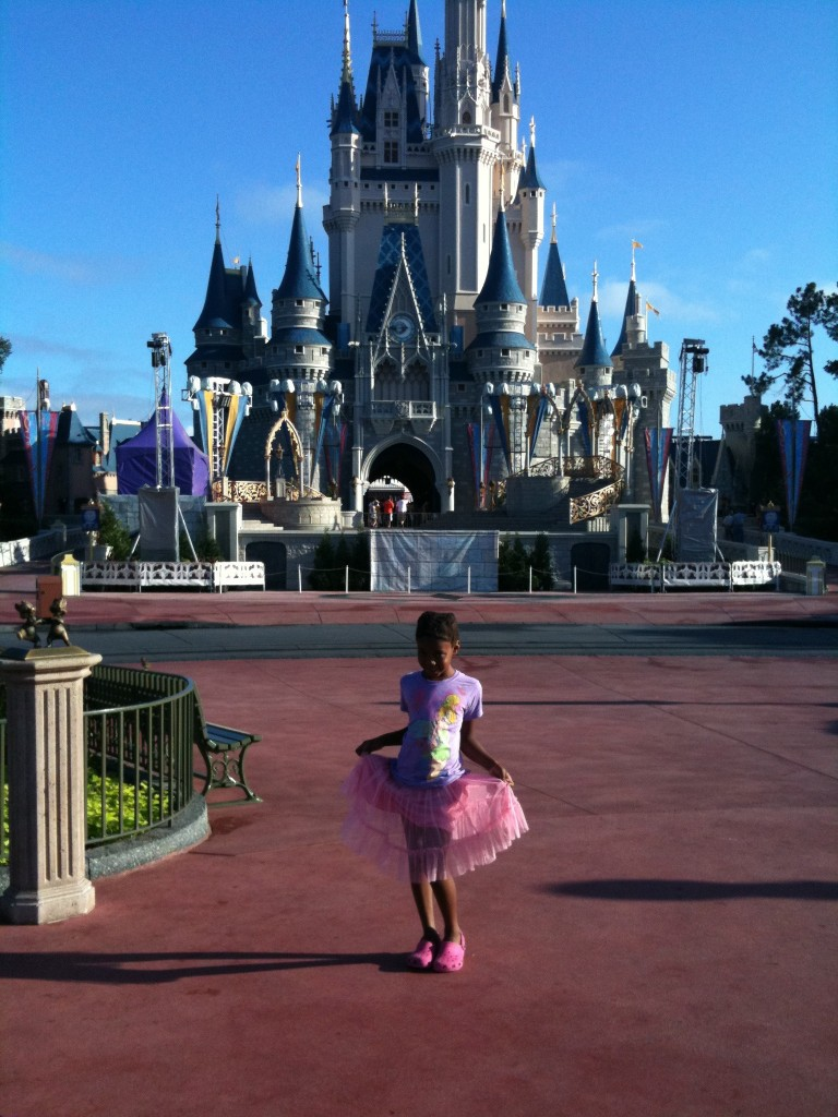 No Black Princesses Allowed at Walt Disney Worlds Cinderellas Castle  NYC Single Mom
