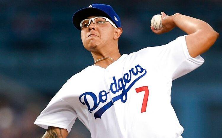 Julio Urías, lanzador elite de los Angeles Dodgers