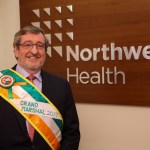 The 2017 Grand Marshal is health care leader Michael J. Dowling