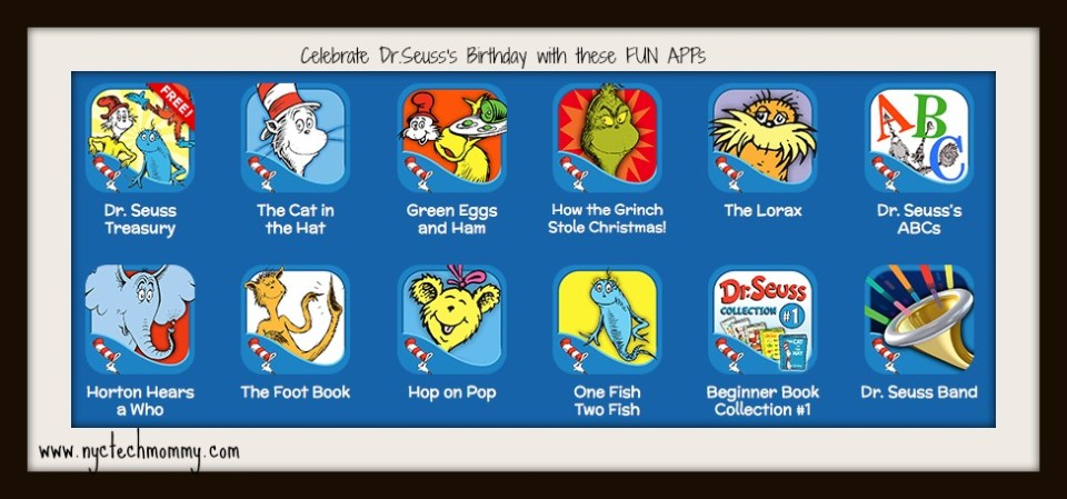 Fun Apps for Kids to Celebrate Dr. Seuss
