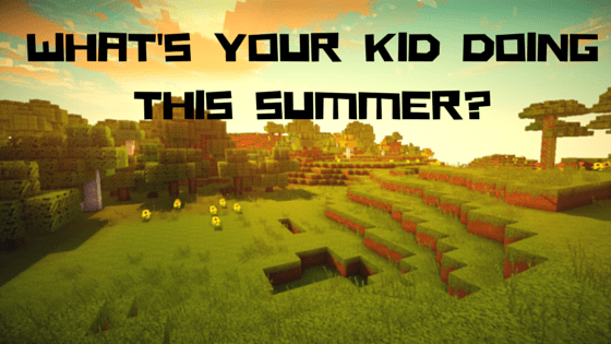 Online Minecraft Kid Camp