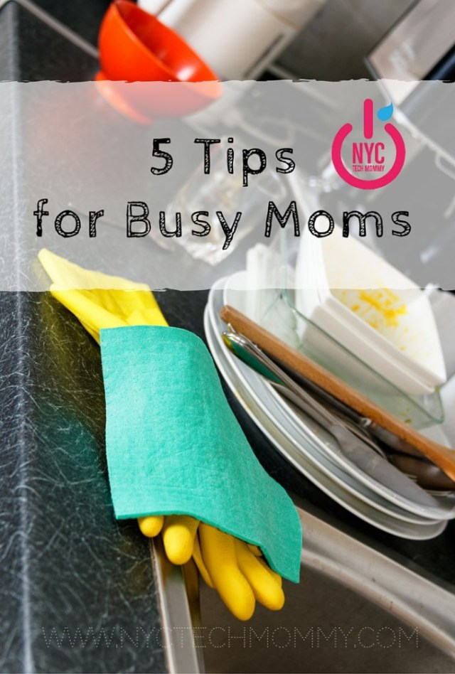 Simplify Your Life with these 5 Tips for Busy Moms