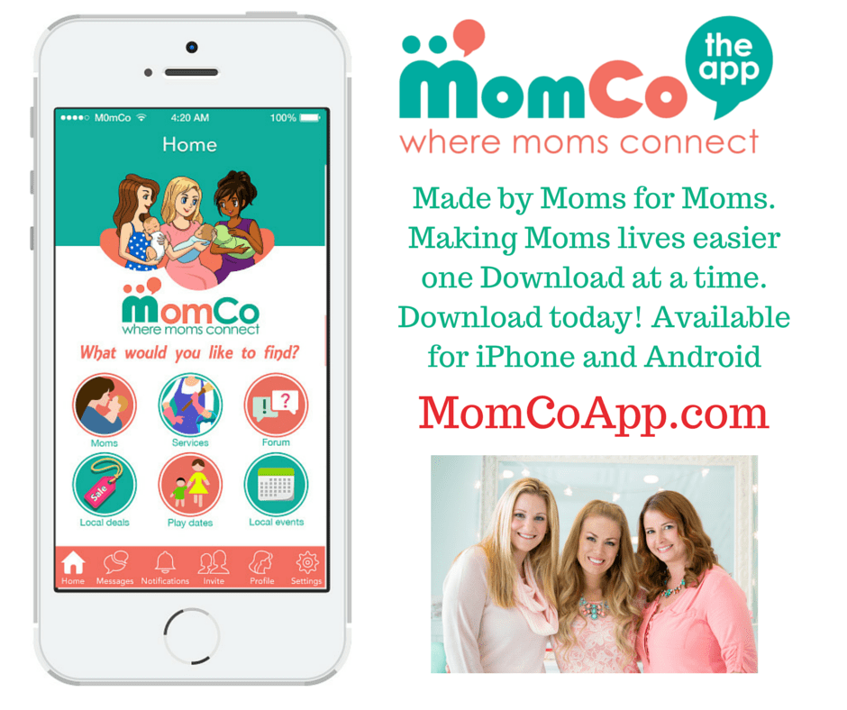 MomCo App - The new must-have app for moms