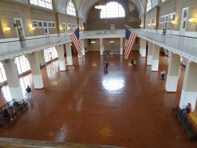Ellis Island - Registry Room