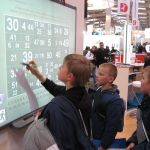 Kids using a SMART Board - Image from Wikipedia - My Ten Years with Tech - http://wp.me/p5Jjr7-cb