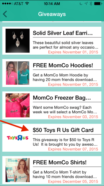 Check out the MomCo Giveaways - Enter to win a $50 Toys R Us gift card from NYCTechMommy.com