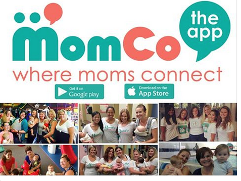 MomCo App is Where Moms Connect - Click the link to learn more - http://wp.me/p5Jjr7-pw