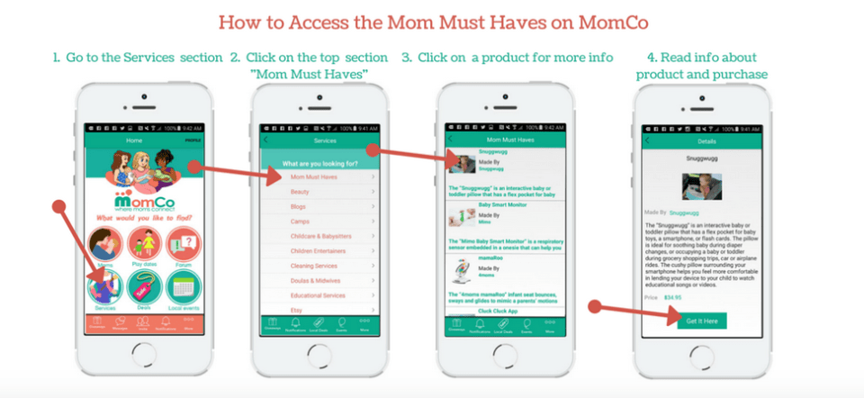 How to Access the Mom Must Haves on MomCo - Click the link to learn more - http://wp.me/p5Jjr7-pw