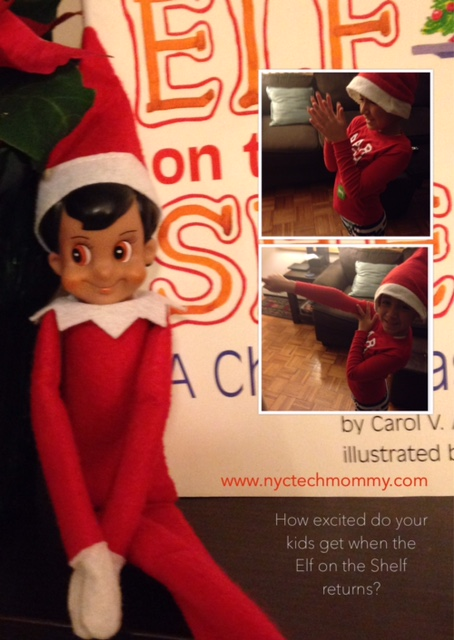 How excited are your kids when the Elf on the Shelf returns?