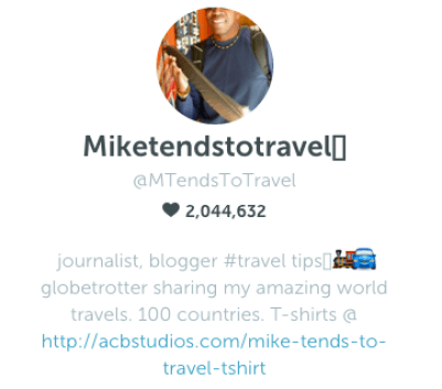 Miketendstotravel on Periscope