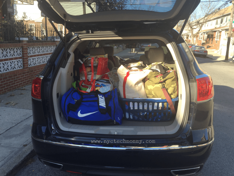 2016 Buick Enclave - Great trunk space to fit it ALL in when taking a family road trip