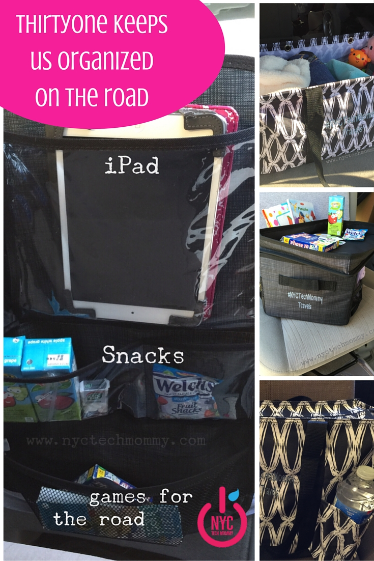 Get Your Car Organized and Your Kids too with Thirty-One Products - 3 Tips that will help you!