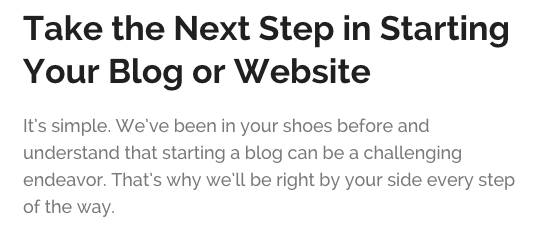 Start Your Blog in 4 Easy Steps - No Technical Skills Needed! Start in under 15 minutes