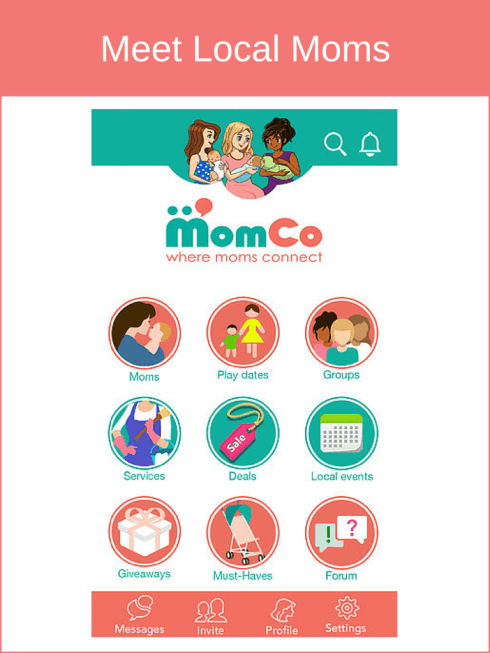 MomCo Meet Local Moms