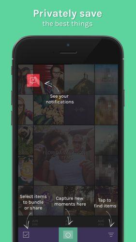Trunq app - privately share photos