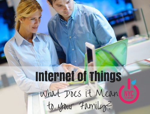 """""""Internet of Things"""" has become one of those semi-annoying tech buzz terms that no one seems to fully understand. But what does it mean to your family? Learn how the Internet of Things is changing our homes, how we communicate and even how we keep track of what are kids are up to."""