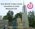 One World Trade Center Unveiled at LEGO Miniland USA - A must see!